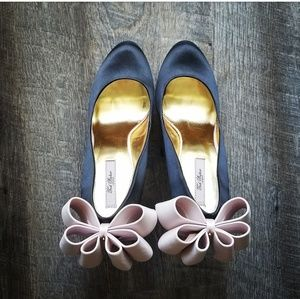 🍒TED BAKER🍒 OAKER ORIGAMI BOW HEELS